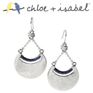 Chloe + Isabel Accessories - 🆕 Hero Metal + Leather Crescent Earrings c+i E363